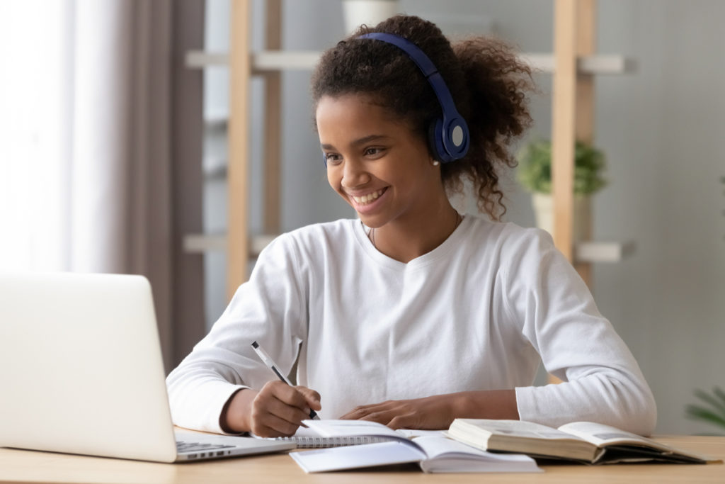 High School Student online tutoring with Beyond the Classroom